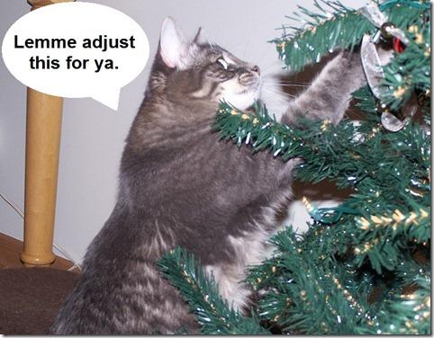 Christmas Ball Adjustment