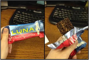 Chocolate Peppermint Stick -Luna Bar
