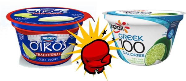 Oikos VS Yoplait
